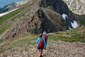 072319 ultra fun ridge, good rock