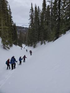 Snowshoe Pass and Coal Creeks - 2/22/20