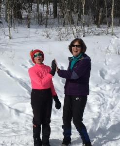 XC Skiing/Snowshoe in Lower La Plata Canyon